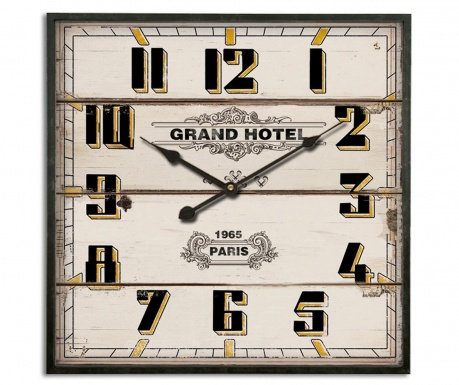 Ceas de perete Grand Hotel 1965 Paris