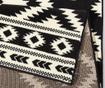 Preproga Ethno Black and Cream 80x150 cm
