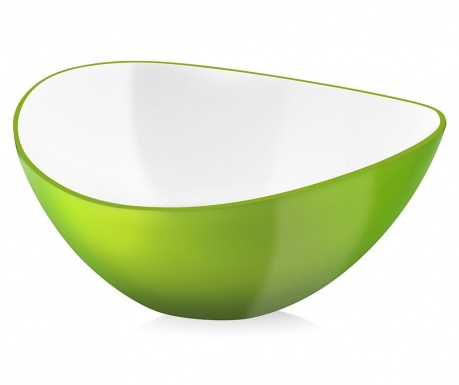 Skleda za solato Livio Green 1 L