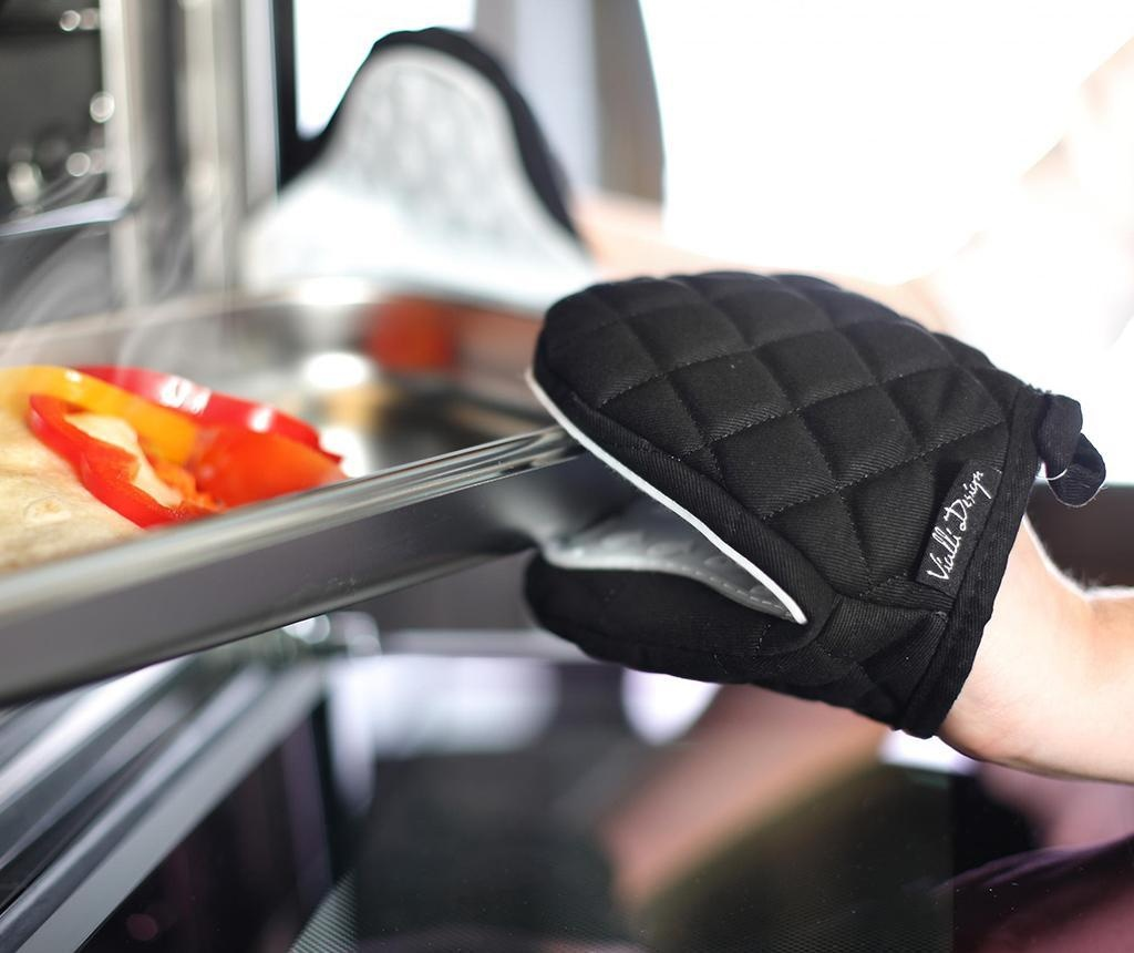 Kuhinjska rukavica Livio Black White