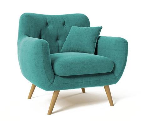 Fotel Renne Turquoise