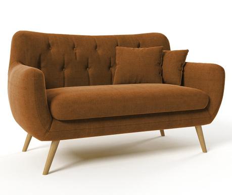 Canapea 2 locuri Renne Ibiza Brown