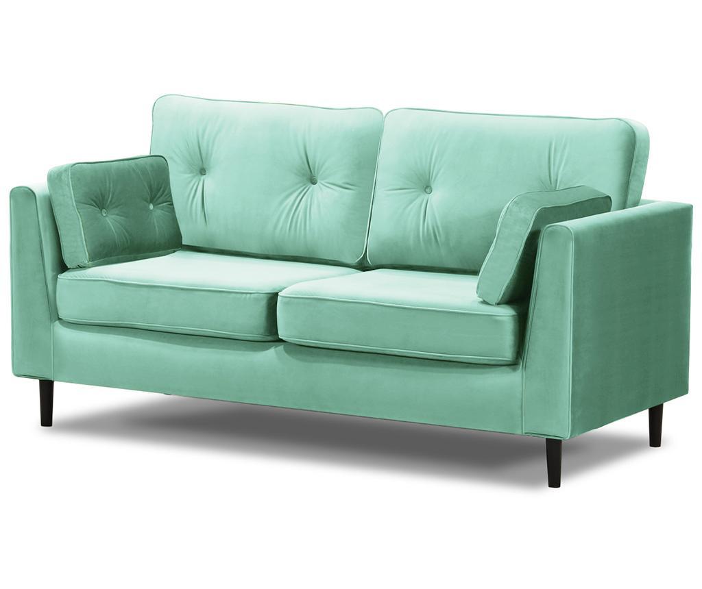 Canapea 3 locuri Marigold Sky Blue