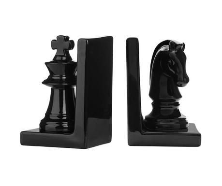 Sada 2 zarážok na knihy Chess