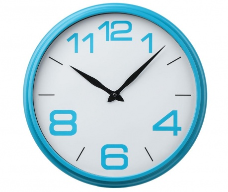 Стенен часовник Patrick Blue