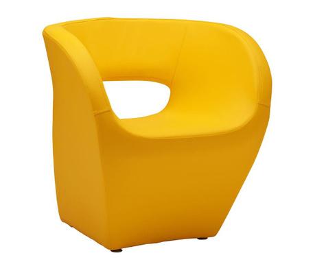 Křeslo Aldo Yellow