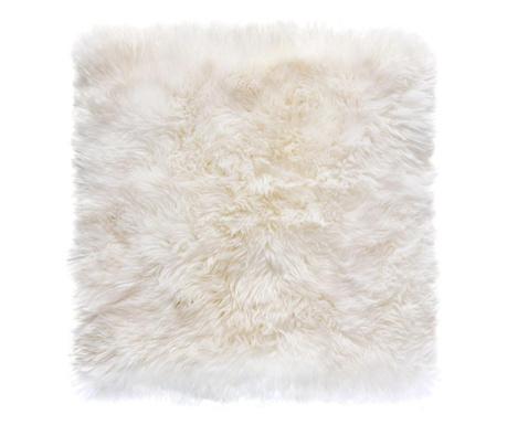 Leedo Square White Szőnyeg 70x70 cm