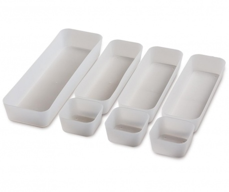 Set of 7 organizing trays Cara Slim
