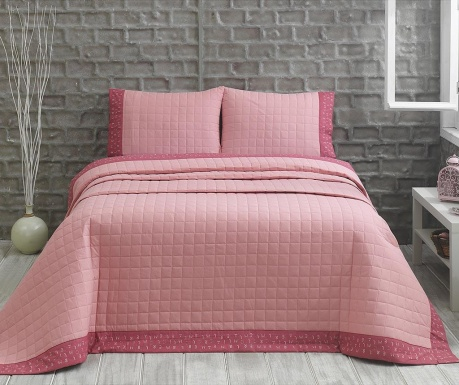 Jolly Pink Kétszemélyes Steppelt Ranforce Ágytakaró 7830804909