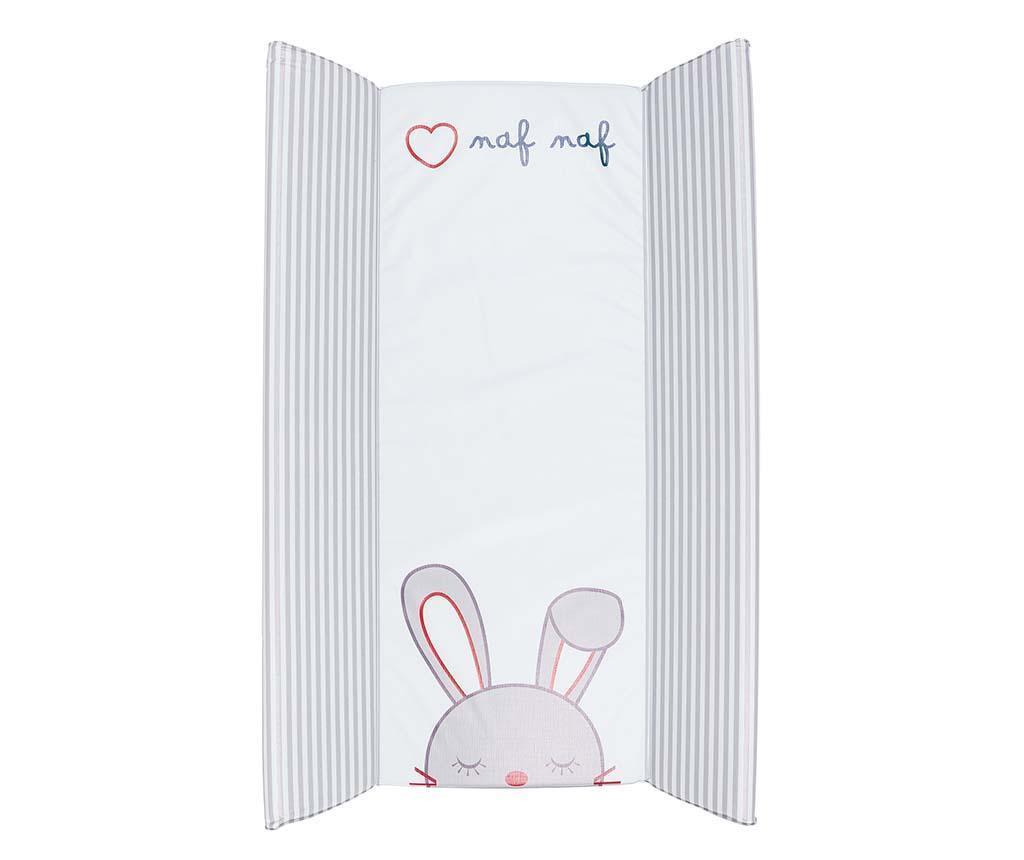 Matrace na přebalování Rabbit 50x80 cm