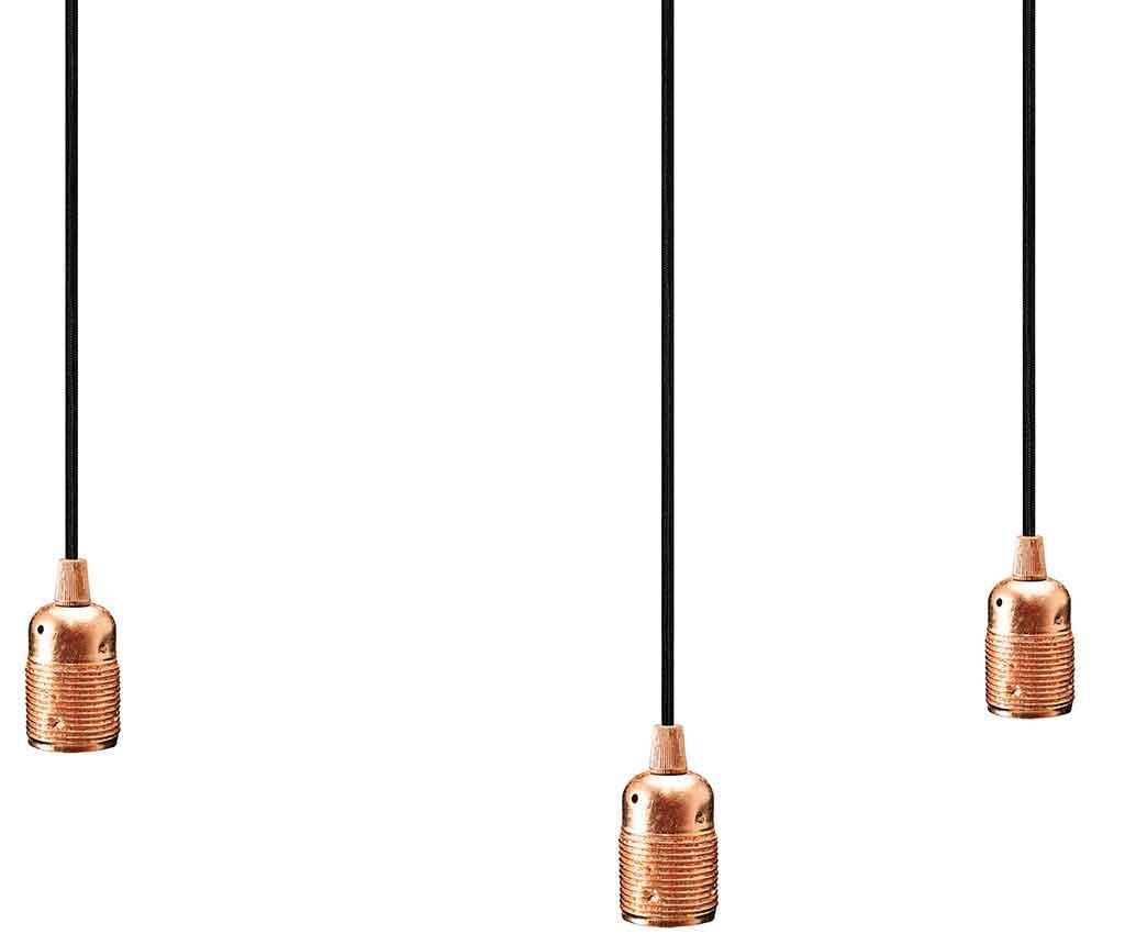 Lustra Uno Spider Triple Copper