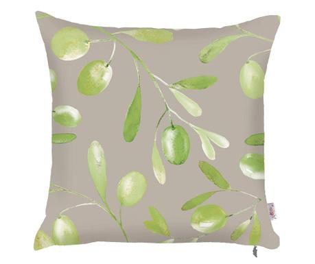 Poszewka na poduszkę Olive Garden Grey 43x43 cm