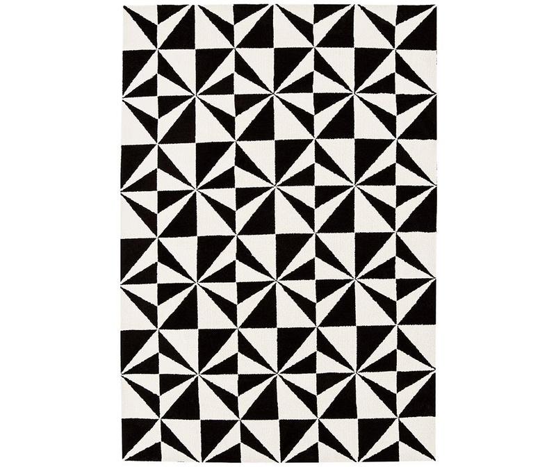 Koberec Arlo Mosaic Mono 120x170 cm