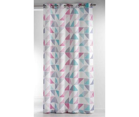 Завеса Triangles Pink 140x260 см