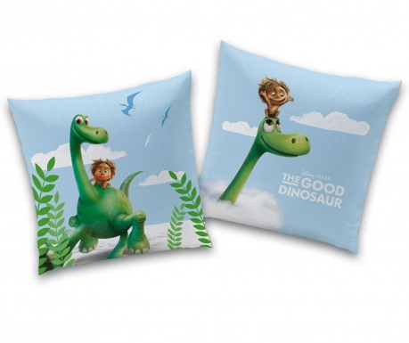 Ukrasni jastuk Disney Good Dinosaur Arlo and Spot 40x40 cm
