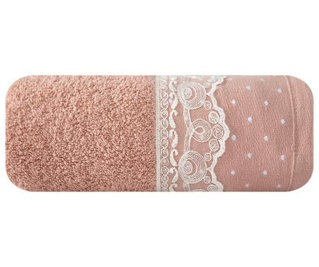Mia Pink Fürdőszobai törölköző 50x90 cm