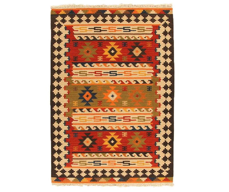Tepih Kilim Sivas Orange 60x200 cm