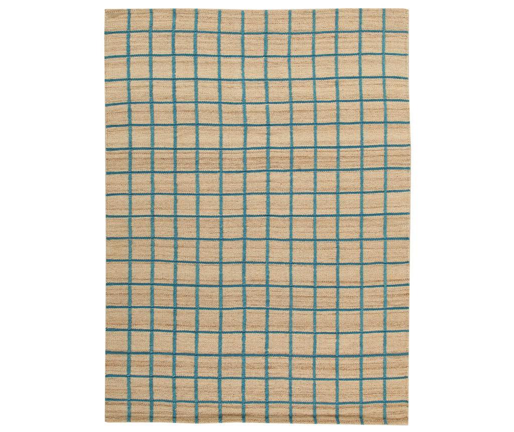 Tepih Kilim Box Blue 60x120 cm