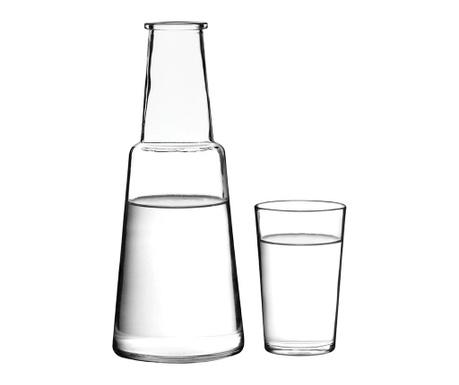 Zestaw butelka i szklanka Verity