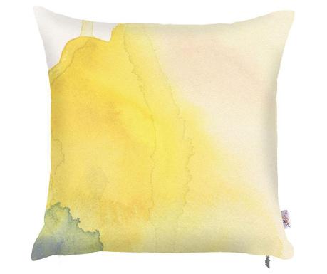 Poszewka na poduszkę Yellow Paint 43x43 cm