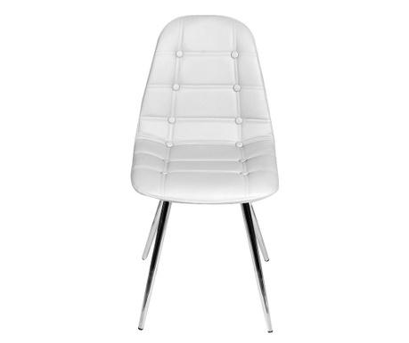 Sada 2 židlí Devon White