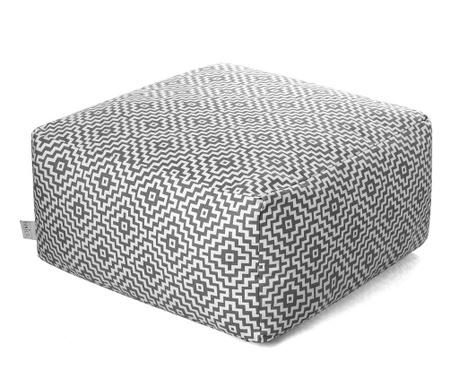 Sedací puf Sadira Grey 60x60 cm