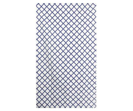 Carpet Saman White Blue 150x240 cm