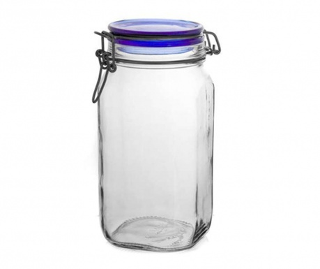 Steklenka s tesnilnim zapiranjem Fido Blue 1.5 L