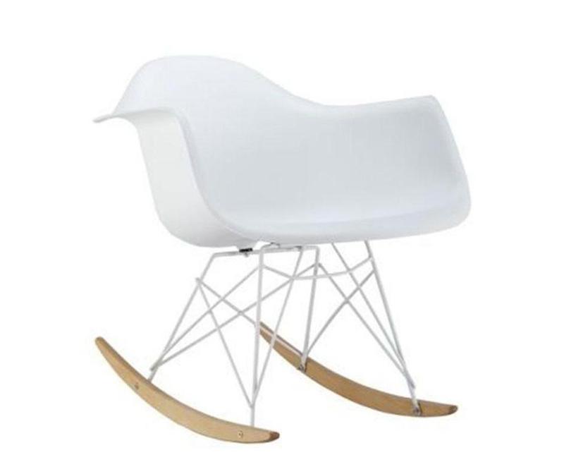 Люлеещ се стол Delight White