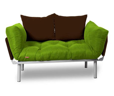 Sofa extensibila Relax Green Brown