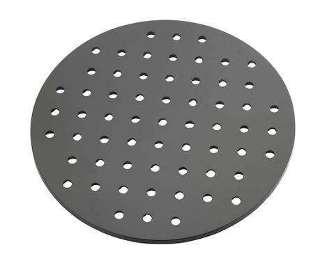 Kristall Round Black Védőlap mosogatókagylóba