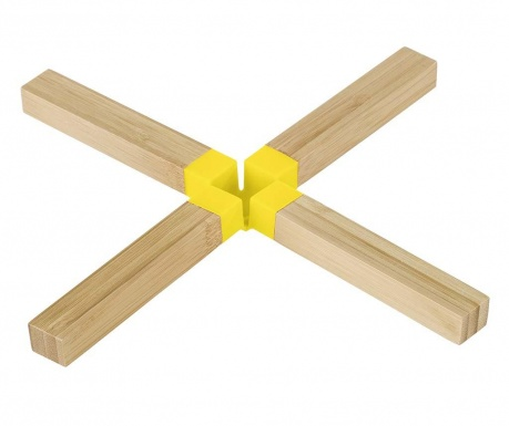 Подложка за горещи съдове Yellow X