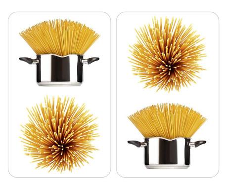 Set 2 zaštitne ploče za štednjak Spaghetti