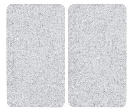 Set 2 zaštitne ploče za štednjak Transparent