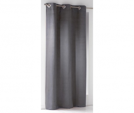 Zastor Suedine Dark Grey 140x240 cm