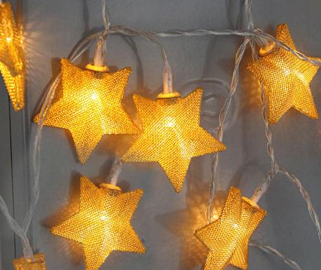 Ghirlanda luminoasa Star Gold