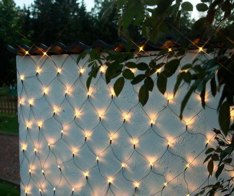 Venkovní světelná síť Glow Clear