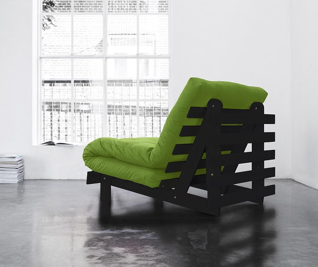 Sofa extensibila Roots Wenge and Lime