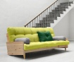 Sofa extensibila Indie Natural and Pistachio