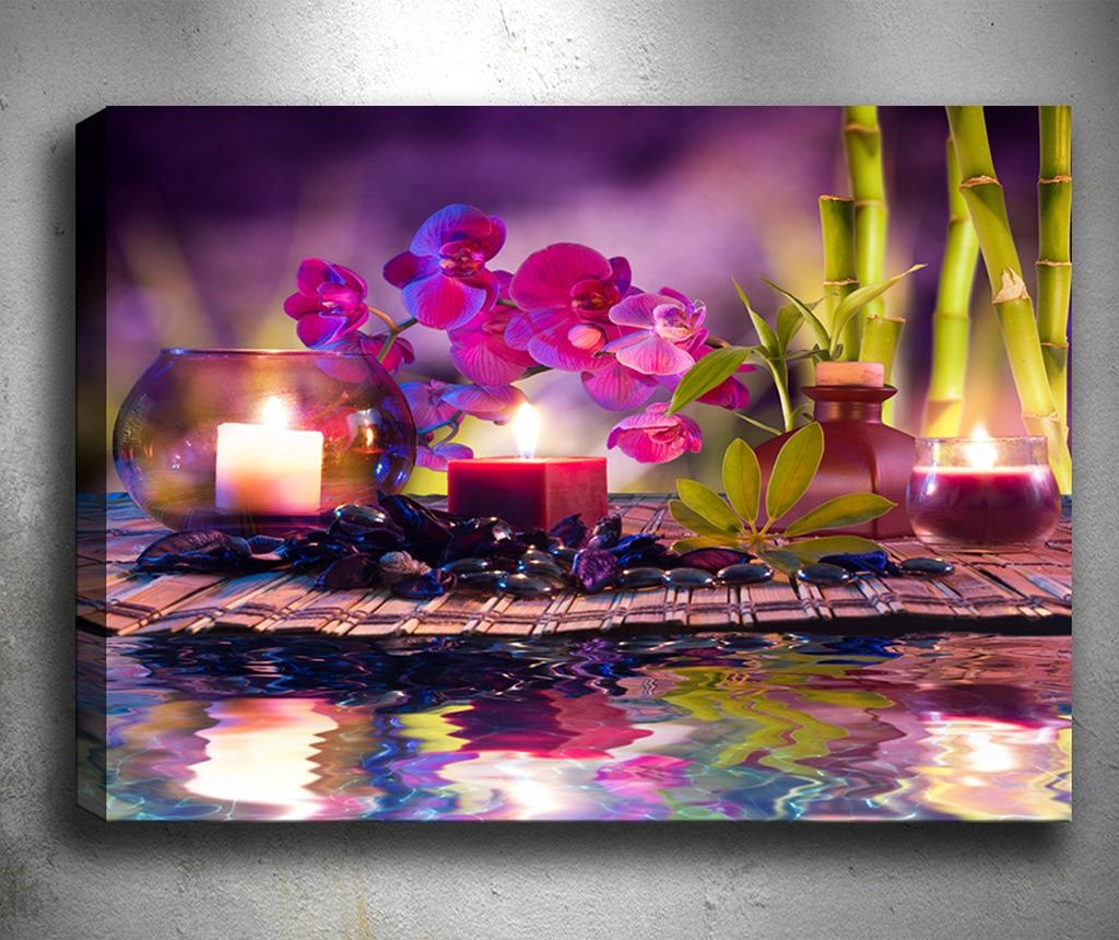Slika 3D Purple Place 50x70 cm