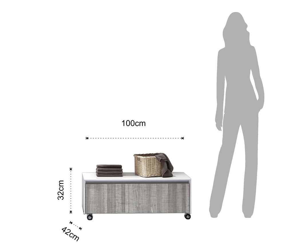 Side Fürdőszobai asztalka