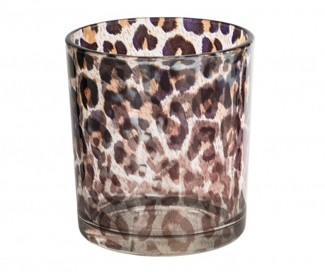 Свещник Leopard Clear