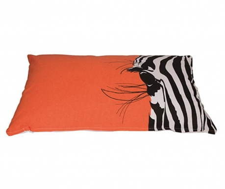 Perna decorativa Zebra Look 35x60 cm