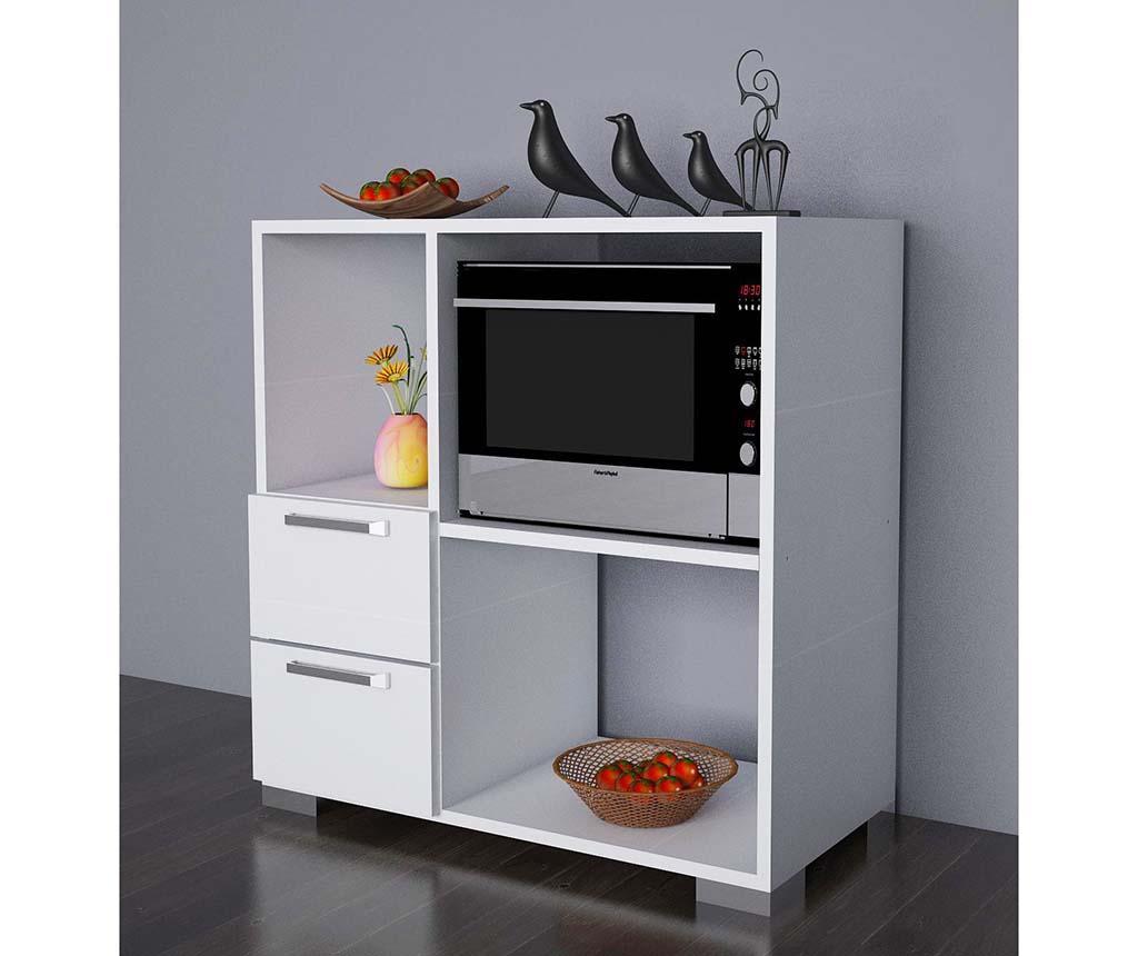 Kuhinjski element s policama i ladicama Ece