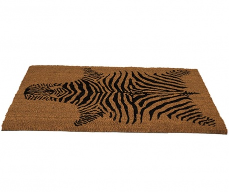 Covoras de intrare Zebra 45x75 cm
