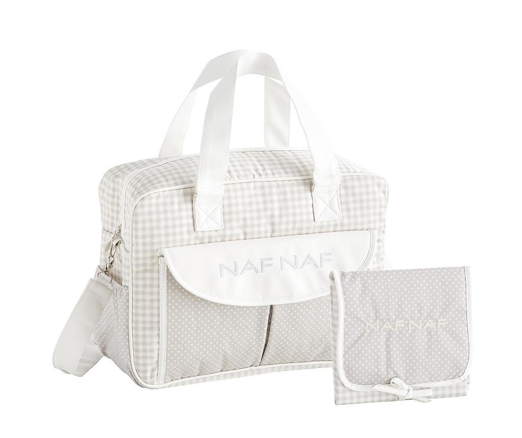 Sada taška a skládací matrace na přebalování Vivian Grey