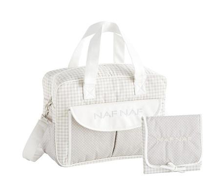 Zestaw torba na pieluchy i składany przewijak Vivian Grey