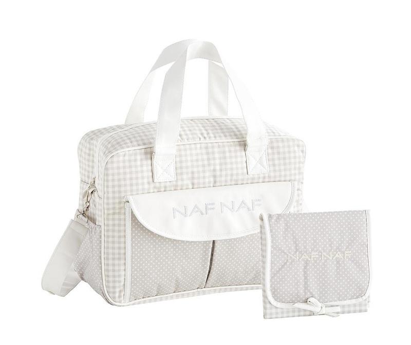 Set - torba in zložljiva podloga za previjanje Vivian Grey