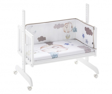 Set dječji krevetić sa dodatcima Oso Cosleeper