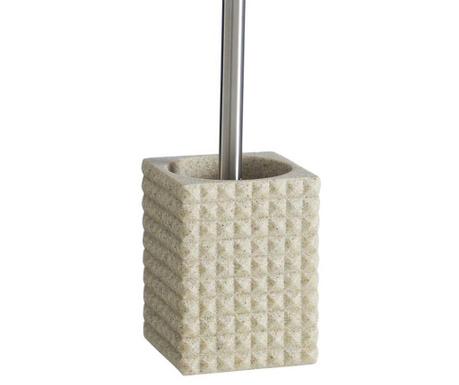 Perie de toaleta cu suport Relieve